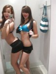 amateur photo When hot girls go into the dressing room together...