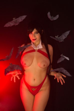 amateur photo Juka Crasoves as Vampirella