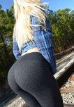 amateur photo blonde booty