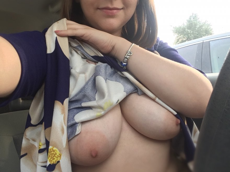 IMAGE[image] Flashing in my car Porn Photo