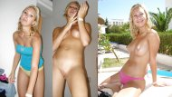 amateur photo Blonde on vacation