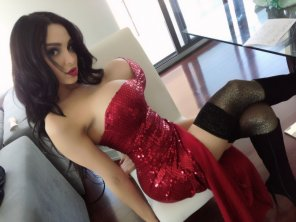 amateur photo Jessica Rabbit must be every mans dream