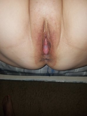 amateur photo Got pounded and he left something behind!