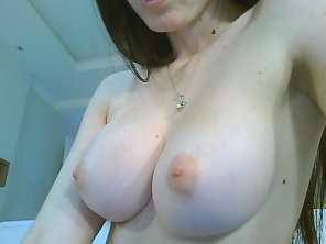amateur photo My perky pale boobs. It's so good and free not wear a bra
