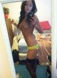amateur photo Yellow Panties