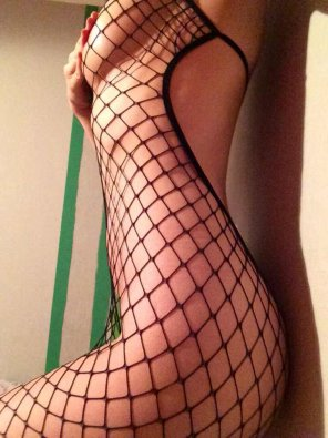 amateur photo For the fishnets lovers :)