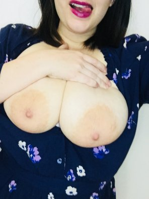 amateur photo Wanted to bring the big gals out tonight!