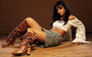 amateur photo German TV-host and actress Collien Fernandes