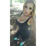 amateur photo Going for a run