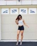 amateur photo Black Shorts