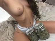 Boobs and bud