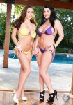 amateur photo Angela White and Sophie Dee