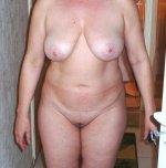 amateur photo Chubby wife
