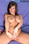 amateur photo Candy Cole reaches for her clit