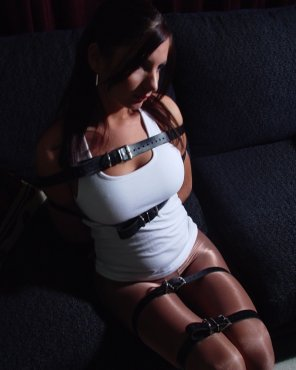 amateur photo Bound by belts