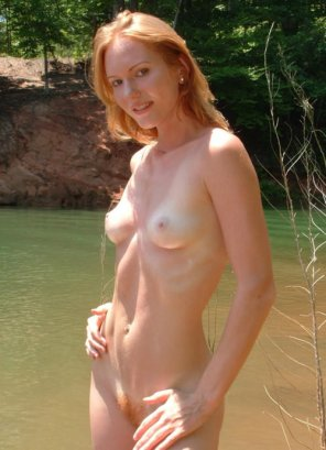 amateur photo Ginger milf...
