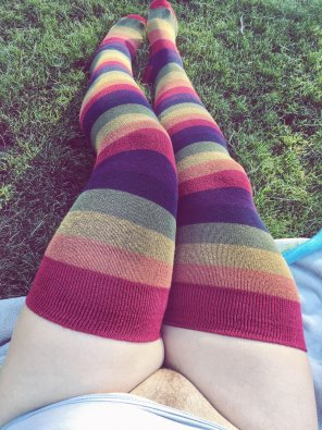 amateur photo Rainbow Stripes