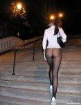 amateur photo Black Pantyhose