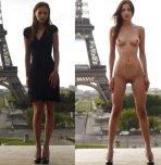 amateur photo Eiffel Tower
