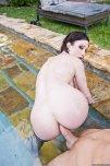 amateur photo Jennifer White fucking in the pool
