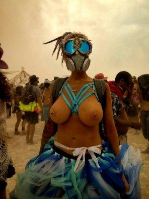 amateur photo Burning Man