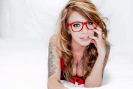 Red Rimmed Glasses
