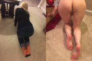 My 52 year old wife, on/off from behind