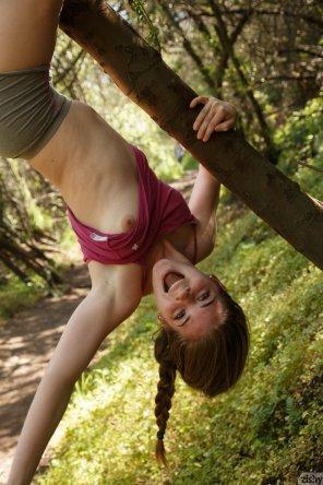 amateur photo Making hiking fun