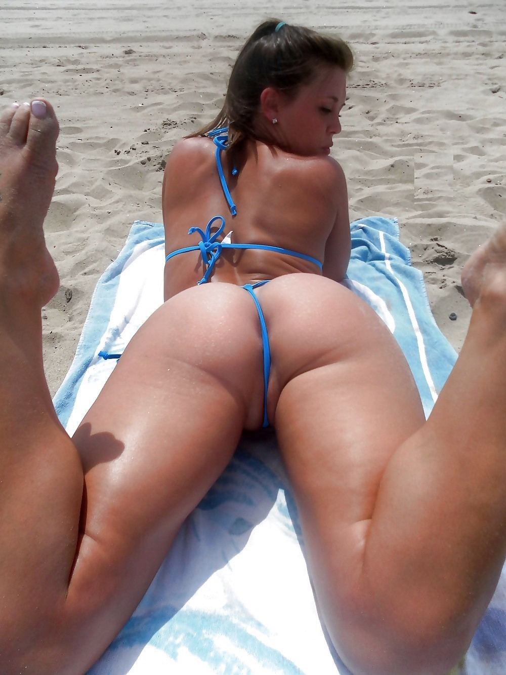 Showing Off Thong Public