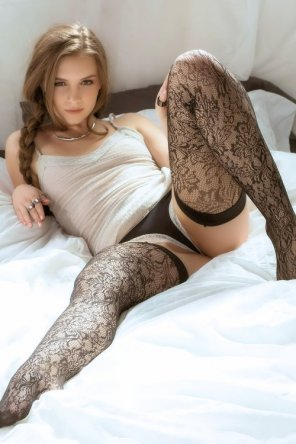 amateur photo Legs and lace...
