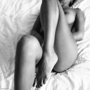 amateur photo Black and White and Hot