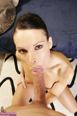 amateur photo Jennifer Dark. Lollipop girl.