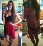 amateur photo Tanlines and a smile