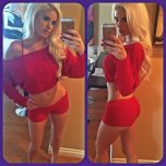 amateur photo All in red