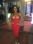 amateur photo Hot in red