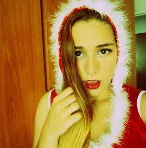 amateur photo I wish Santa Claus was cumming
