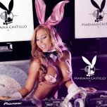 amateur photo DJ Mariana Castillo - Playboy bunny