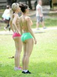 amateur photo Two Babes in the Park