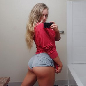 amateur photo Respect the booty