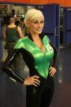 amateur photo Marie-Claude Bourbonnais as Green Lantern