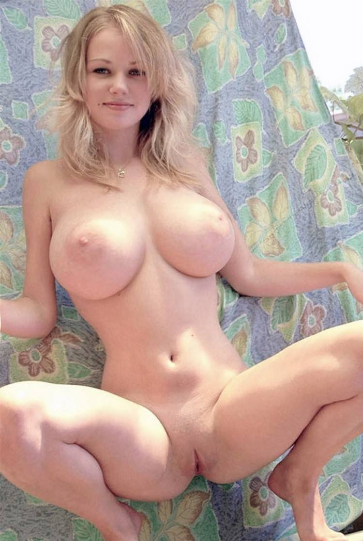 hot blonde big boobs
