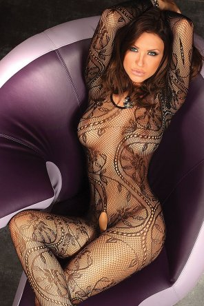 amateur photo Bodystocking