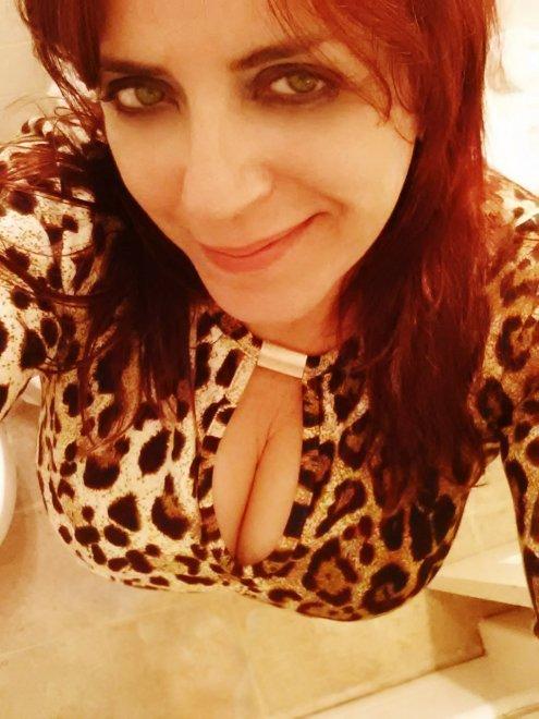 Leopard dress Porn Photo