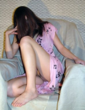 amateur photo Shy girl