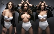 amateur photo Rosie Jones @ Nuts Magazine [Photomontage]