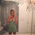 amateur photo Chandelier selfie
