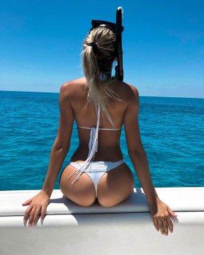 amateur photo Caribbean blue