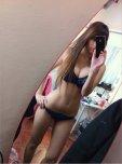 amateur photo Showing off her new underwear