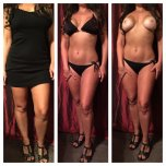 amateur photo New bathing suit