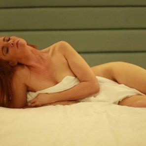 amateur photo Redhead, bedhead